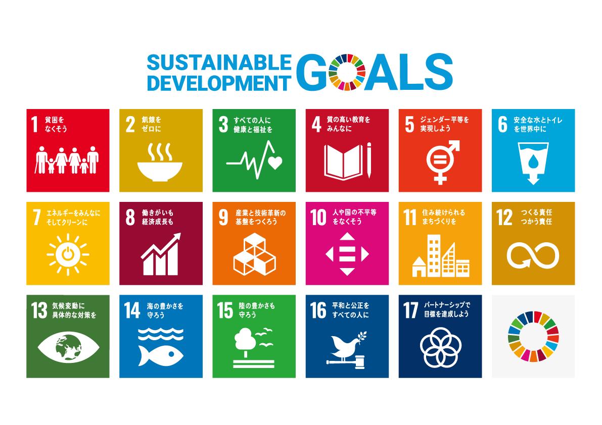 【日本】SDGsロゴアイコン